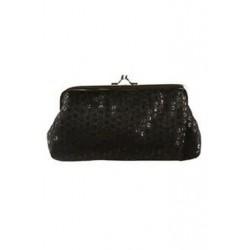 Női flitter kuplung esti party telefon táska pénztárca pénztárca (fekete) S8Y8