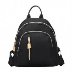 1X (divatos női utazási hátizsák Oxford ruhával, cipzárral, válltáska Casual Ba A5S6