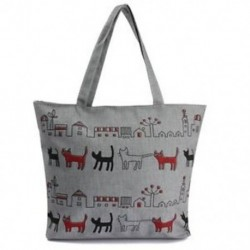 Womennvas Lady válltáska kézitáska Tote bevásárló táskák, cipzáras A4S3