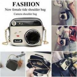 Új női dagály válltáska retro táska divatos kamera válltáska kis pa J5L6