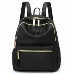 1X (alkalmi Oxford női hátizsák fekete vízálló iskolatáskák tizenéves Gi H1R3-hoz
