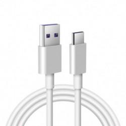 1x USB 5A C típusú C kábel P30 P20 Pro Lite Mate20 10 Pro P10 Plus Lite USB 3.1 C típusú Eredeti szupertöltő  kábel