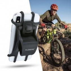 1x Kerékpár telefon-tartó univerzális mobiltelefon-tartó Bike kormánykerekes klip állvány GPS tartókeret