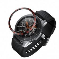 1x Keretes stílusú tok Samsung Watch 42mm karcolásgátló rozsdamentes acél frontgyűrűsGalaxy Gear S3 42mm