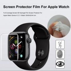1x Teljes lefedettségű 9D hidrogél filmvédő fólia Apple Watch sorozathoz 4 3 2 1 iWatch 38/40/42/44 mm