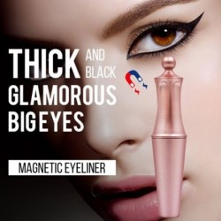 1x Mágneses folyékony szemceruza mágneses szempillákhoz Könnyen használható női szépségápolási eszközök