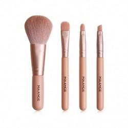 4 db színes kozmetikai alapozó szemhélyárnyaló smink ecset kefe szett készlet