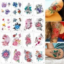 Ideiglenes Tetoválás - vízálló matrica - unisex - 16 féle mintával