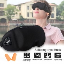 1x Hordozható 3D  szemmaszk párnázott fedő relaxáció pihenés