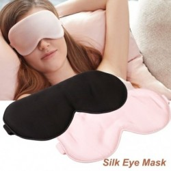 1x Kétoldalas alvó maszk utazási légáteresztő pihenés éjszakai alvás szemfedő