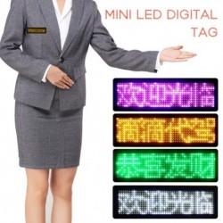 1x Mini LED digitális programozható BT Bluetooth Üzenet címke jel tábla