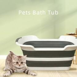 1x Többfunkciós összecsukható gyerek háziállatok fürdőkád szennyes kosár