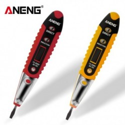 1x 12-250 V-os LED-es digitális elektromos feszültség tesztelő teszt toll-érzékelő zseblámpa fázis ceruza