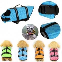 1x Kutya mentőmellény Kisállatbiztonsági úszás segítő állítható mellény XS