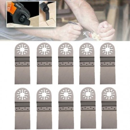 10 db többfunkciós fűrészlap rozsdamentes acél vágószerszám 34 * 95mm