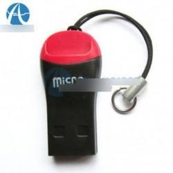 5db USB 2.0 Mini Micro SD T-Flash TF M2 memóriakártya-olvasó Új nagysebességű