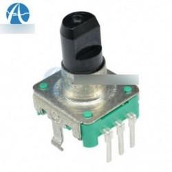 2db Forgó jeladó EC12 Audió digitális potenciométer 5mm fogantyú