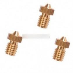 2db 0,4mm réz extruder fúvóka M6 1,75 mm-re Fogyasztható