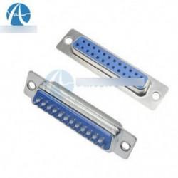 25 pin D-SUB női DB25F forrasztható csatlakozó adapter DB25