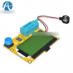 LCR-T4 tranzisztor teszter - LCR-T4 ESR tranzisztor tesztelő mérő dióda kapacitás és akril tok Shell ház