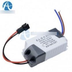 3X1W AC 85V-265V-tól DC 12V-os LED-es elektronikus transzformátor intelligens tápegység-meghajtóhoz