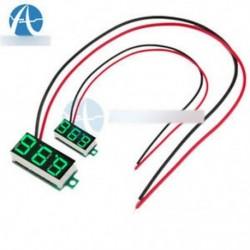 """0,36 """"LED digitális autós feszültségmérő feszültség panel mérő 2 vezetékes DC 3-30V sárga zöld"""
