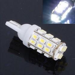 2db fehér fényes T10 1206 28 SMD LED autós lámpabemutató fénylámpa blub