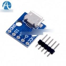 5db CJMCU Micro USB interfész kártya Power Switch 5V interfész Új