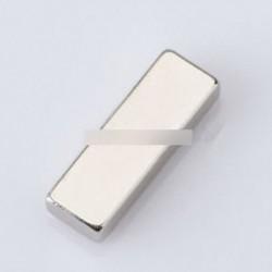 Szuper erős blokk kocka mágnesek Ritka föld neodímium 30x10x5 mm N35 nem lyuk