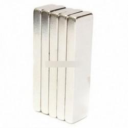 5PCS N52 40x10x4mm - 5 / 10db Super Round Erős hűtőszekrény mágnesek ritkaföldfém neodímium mágnes N50 N52