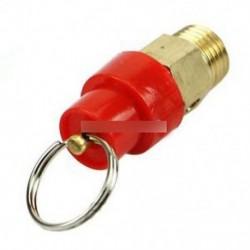 1/4 '' 1KG BSP légkompresszor biztonsági kioldószelep nyomáscsökkentő szabályozó
