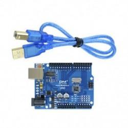 CH340G UNO R3 kártya   kábel - UNO R3 Kompatibles panel mit Atmel ATmega328P 16MHz CH340 CH340G USB