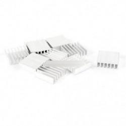 10db 20 * 20 * 6mm kiváló minőségű alumínium hőelnyelő LED-es memória memória chipre