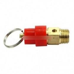 10KG 1/4 '' BSP kompresszor nyomáscsökkentő szelep Levegőszabályozó biztonsági kioldása
