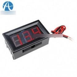 """0,56 """"DC4.5-30V feszültségmérő LED panel Három digitális kijelző Volt feszültségmérő piros"""