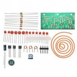 DC 1.5V-9V FM vezeték nélküli mikrofon DIY elektronikus tanulási készlet 80 MHz-108MHz