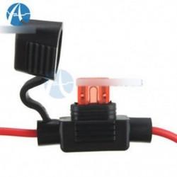 2db vízálló tápcsatlakozó Mini penge típus A biztosítéktartók 10A biztosítékkal