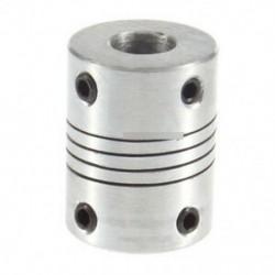 5mmx8mm CNC motor 3D nyomtatóJaw tengelycsatlakozó 5mm-8mm Rugalmas csatlakozó 5x8mm
