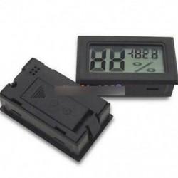 LCD hőmérő nedvességmérő - Digitális Mini LCD beltéri hőmérséklet páratartalom mérő hőmérő Higrométer TOP