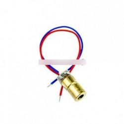 5db 650nm 5 mW lézer Red Dot modul lézeres látvány piros lézer dióda lézeres mutató
