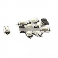 100db 3X6X2.5mm tapintható nyomógombos kapcsoló Tact kapcsoló Micro kapcsoló 2-pólusú SMD