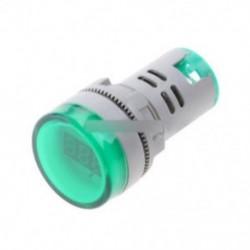 22MM AC60-500V LED feszültségmérő feszültségmérő jelzőfény Új DIY zöld