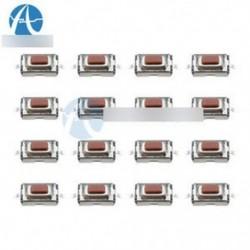 100db 3X6X2.5mm tapintható nyomógombos kapcsoló Tact kapcsoló Micro Switch 2 pin SMD A