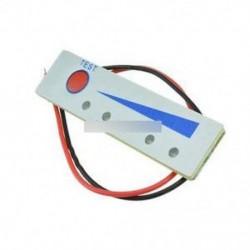12V-os lítium akkumulátor kapacitásmérő Kijelzőpanel elektromos teljesítményjelző táblája