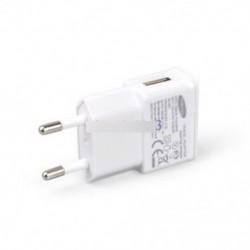 5V 2A EU fehér - Fehér / fekete 5V 2A US / EU dugó 1 port USB fali töltő Gyors tápegység utazás