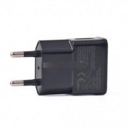 5V 2A EU fekete - Fehér / fekete 5V 2A US / EU dugó 1 port USB fali töltő Gyors tápegység utazás