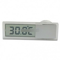 1. stílus - Digitális LED autós kültéri hőmérő W / érzékelő hőmérséklet LCD kijelző