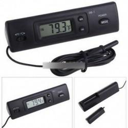 3. stílus - Digitális LED autós kültéri hőmérő W / érzékelő hőmérséklet LCD kijelző