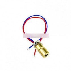 10db 650nm 5 mW lézeres piros pontmodul piros lézeres látószög lézerdiódás lézer mutató