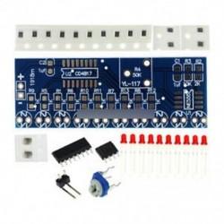 2db NE555   CD4017 futó LED áramlás LED fény elektronikus gyártási csomag DIY készlet